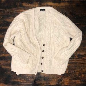 Top shop grandpa style cardigan, size 8